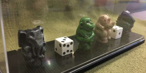 Jumanji Game Pieces & Token | Croc, Elephant, Monkey & Rhino